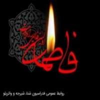 عکس نوشته وفات حضرت فاطمه و ایام فاطمیه
