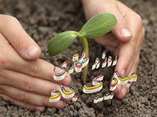 عکس نوشته روز درختکاری با متن جدید96