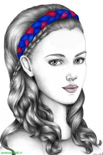 عکس پروفایل دخترونه نقاشی شده و شیک