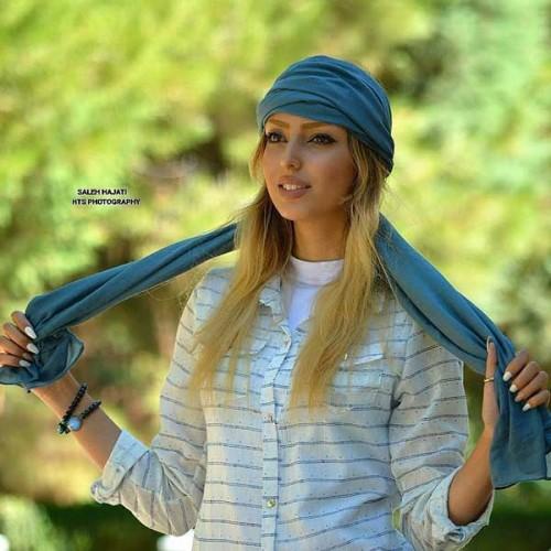 عکس دختر با روسری