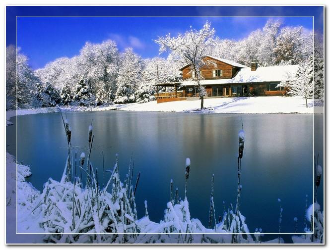 عکس های نقاشی فصل زمستان