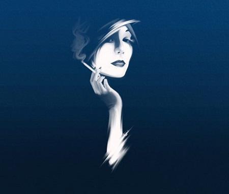 عکس پروفایل دخترانه نقاشی
