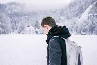 عكس پروفايل زمستاني