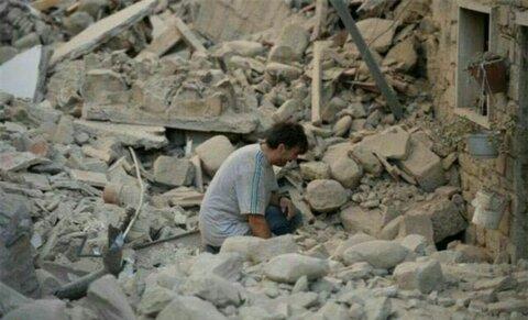 عکس از زلزله بم