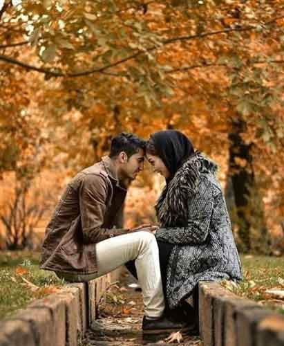 عکس های عاشقانه در دل طبیعت