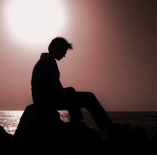 پروفایل غم انگیز غروب آفتاب
