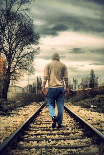 عکس تنهایی