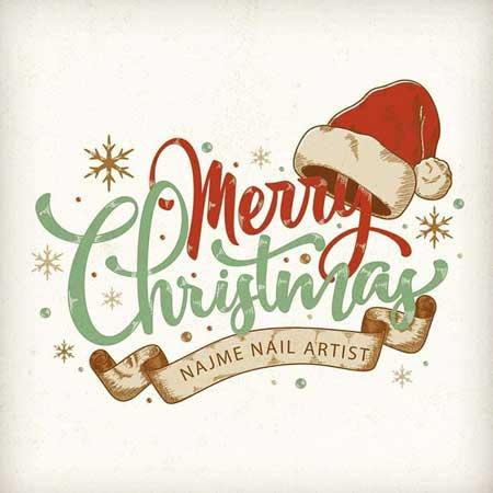 عکس نوشته تبریک کریسمس + متن برای تبریک کریسمس 2020