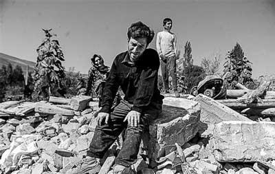 زلزله کرمان - بم 2