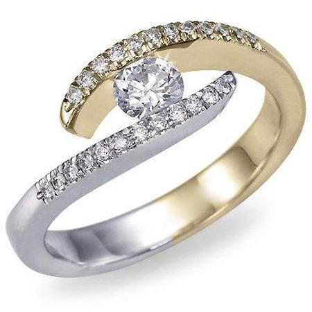 عکس های حلقه نامزدی در دست دختر , عکس حلقه ازدواج لاکچری و زیبا