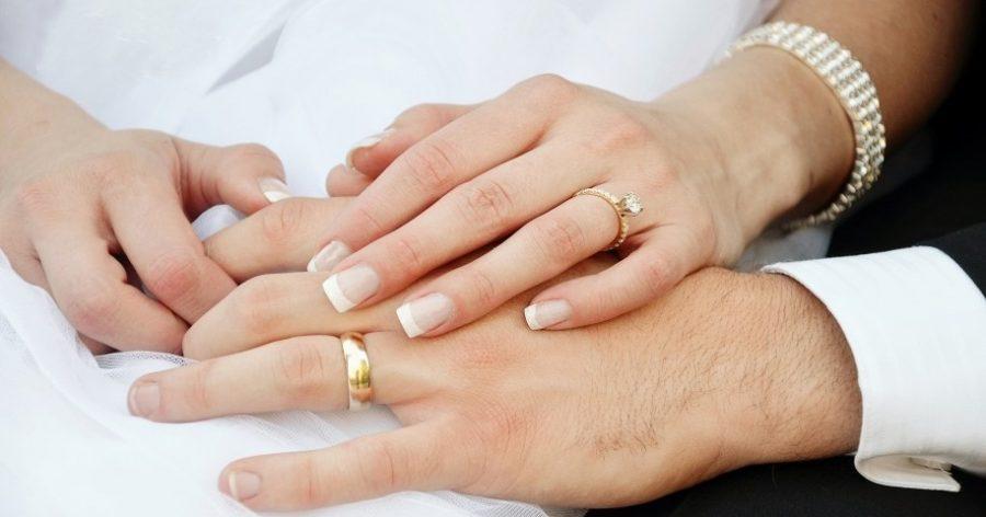 عکس نوشته پروفایل حلقه نامزدی و ازدواج عاشقانه با مدل های جدید حلقه نامزدی