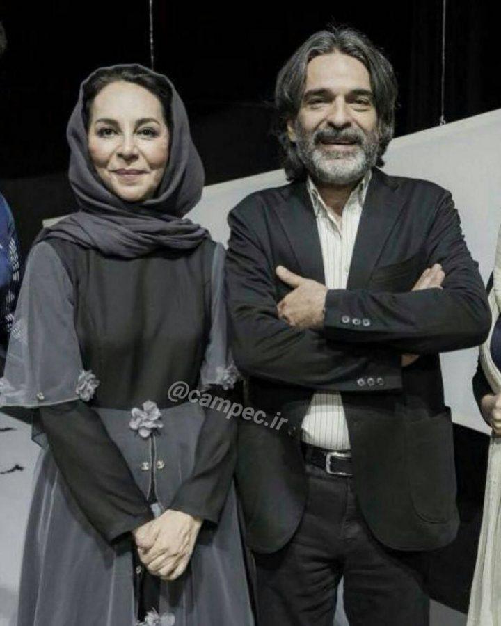 عکس پروفایل بازیگران و چهره های مشهور با همسرانشان سری اول