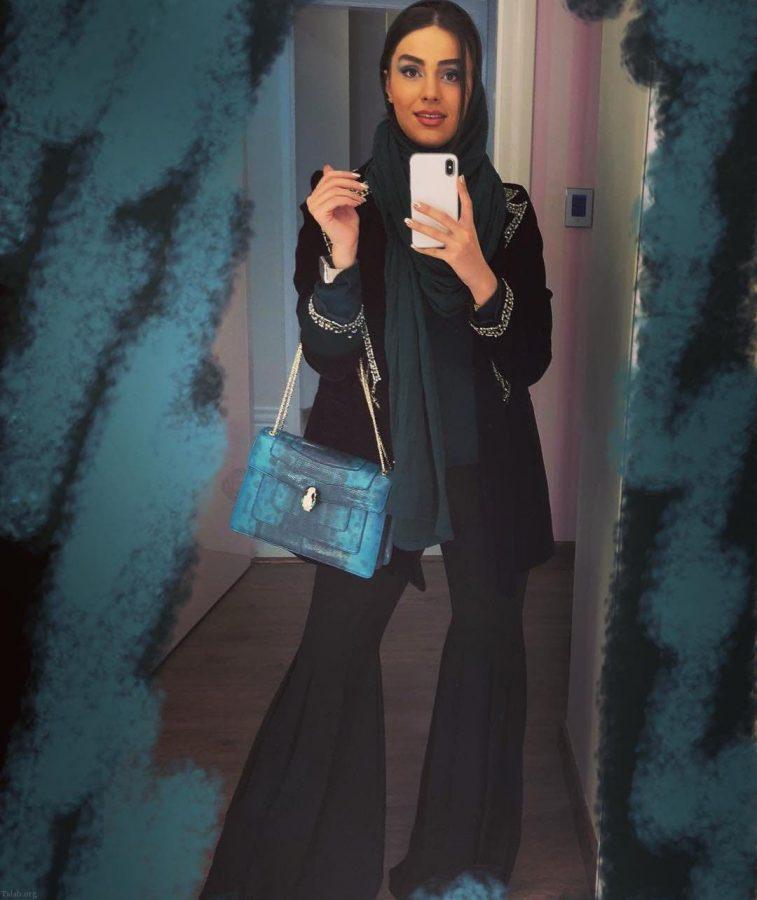 عکس پروفایل زیباترین زن ایران بدون ارایش