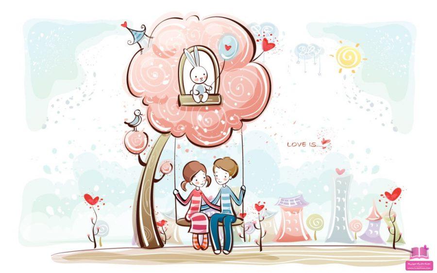 متن تبریک ولنتاین دخترونه عاشقانه - جمله ولنتاین زیبا دخترونه