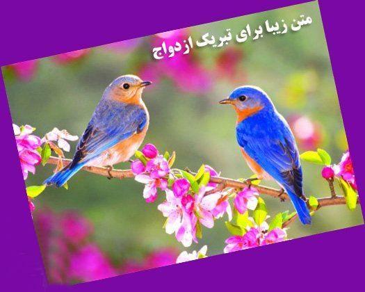 پیام تبریک ازدواج روی کارت هدیه - متن کوتاه تبریک ازدواج روی کارت هدیه بانکی