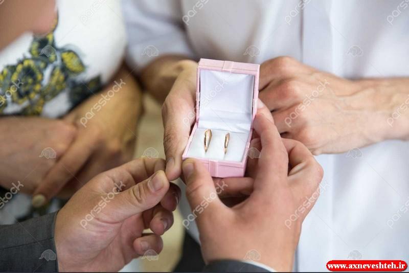 عکس حلقه ازدواج عروس داماد ست + عکس مدل انگشتر ست عروس و داماد 2020