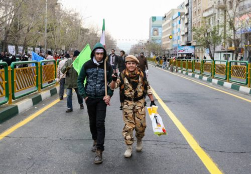 عکس های راهپیمایی 22 بهمن در سراسر ایران