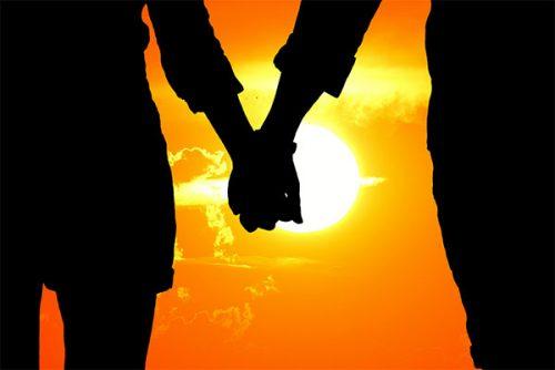 عکس عاشقانه و احساسی دو نفره لب دریا , متن های عاشقانه و احساسی دو نفره کنار دریا