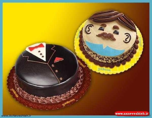 عکس مدل تزیین کیک برای روز پدر - عکس کیک مخصوص روز پدر جدید