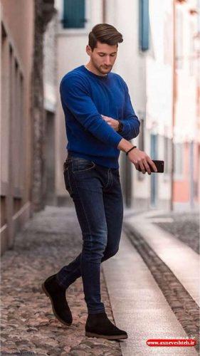 عکس مدل های پیراهن مردانه سال 99 - تصاویر انواع مدل پیراهن مردانه