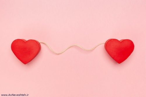 عکس پروفایل قلب عاشقانه و زیبا - عکس قلب عاشقانه دونفره جدید