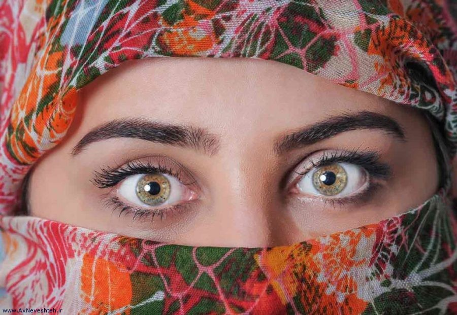 Photo of عکس نوشته زیبا چشم برای پروفایل – عکس چشم مخصوص پروفایل
