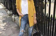 با مانتو زرد چی بپوشم؟ + عکس مدل مانتو زرد