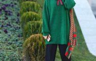 با مانتو سبز چی بپوشم ؟ + عکس مدل مانتو سبز